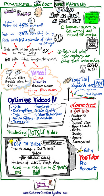 video marketing infopgrahic  Os melhores Infográficos sobre Web Video