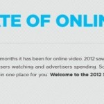 2012 Estatísticas de Video Online