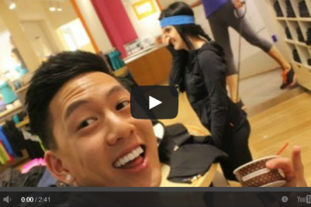 YouTuber Takes #selfieswithstrangers to a Whole New Level