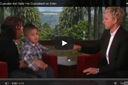 Listen Linda Youtube Sensation Gets Cupcakes from  Ellen
