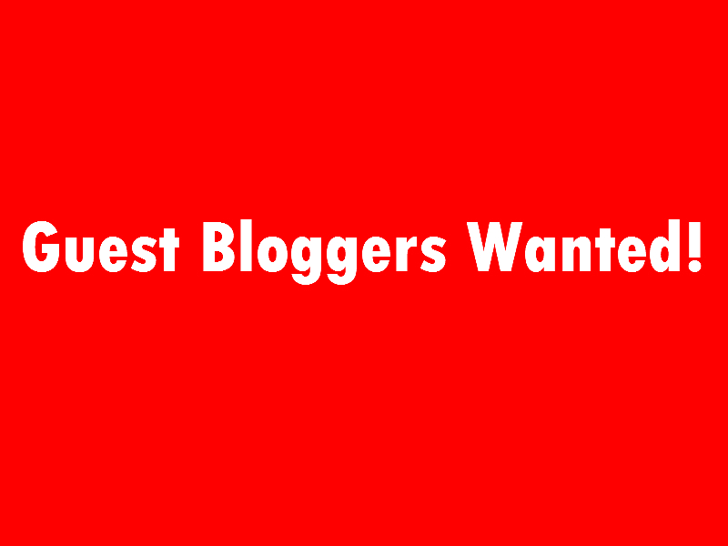 Guest Bloggers Wanted! - Web Video Marketing PortugalGuest Bloggers