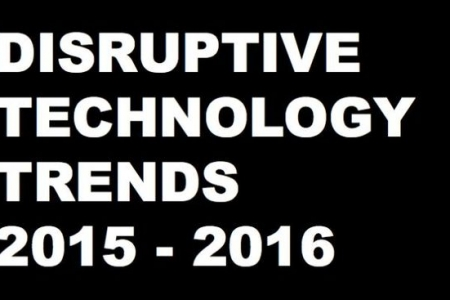 25 Disruptive Technology Trends for 2015 – 2016