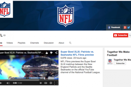 The NFL's cautious embrace of YouTube