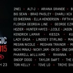 Celebrating the artists of the 2015 YouTube Music Awards