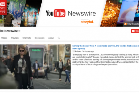 YouTube Launches YouTube Newswire, A Channel Featuring Verified Eyewitness Videos
