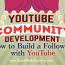YouTube Community Development