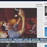 Campaigns using social media to reach voters