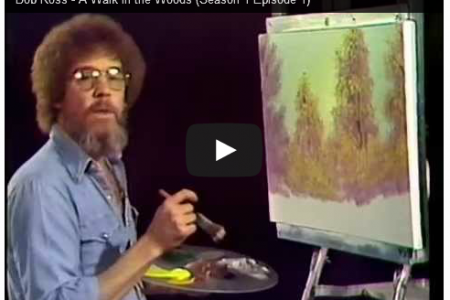 The Bob Ross YouTube Channel Uploads Full Episodes of the Entire First Season of 'The Joy of Painting'