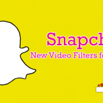 Snapchat New Video Filters for Users
