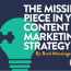 Data: The Missing Piece in Your Content Marketing Strategy