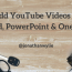 How to Add a YouTube Video to Word, PowerPoint & OneNote on Windows