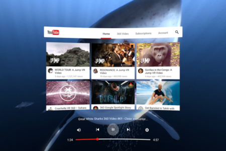 Want to watch YouTube with a VR headset? There's an app for that