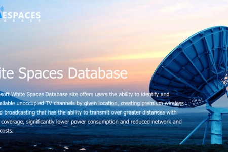 Microsoft Eyes Unused TV Channels for White Space Broadband