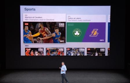 Live sports integration likely coming to Apple's TV app next month