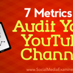 7 Metrics to Audit Your YouTube Channel