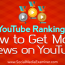 YouTube Ranking: How to Get More Views on YouTube