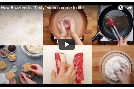 """How Buzzfeed's """"Tasty"""" videos come to life"""