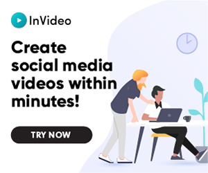 InVideo's online video editor